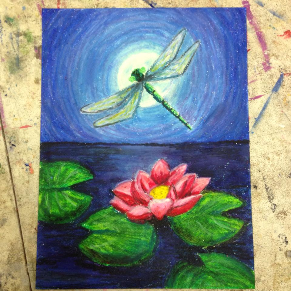 Lotus Flower And Dragon Fly A Ceeqers Life