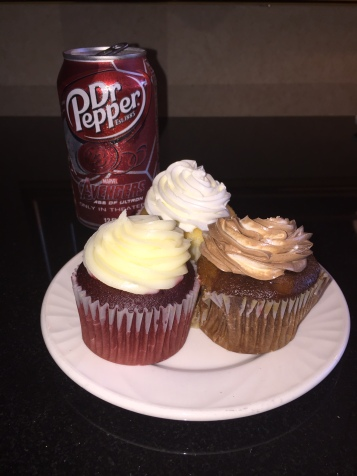 Dr Pepper and cupcakes!